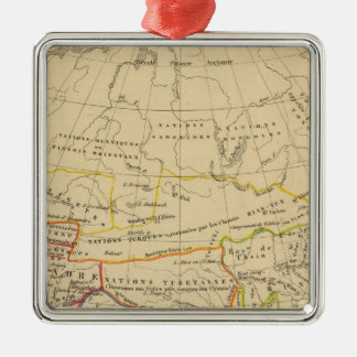 L'Asie, l'an 322 av JC Metal Ornament