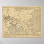 L'Asie, l'an 322 av JC Poster