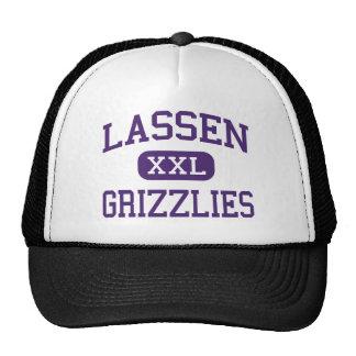 Lassen - Grizzlies - High - Susanville California Trucker Hat