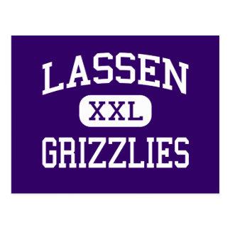 Lassen - Grizzlies - High - Susanville California Postcard