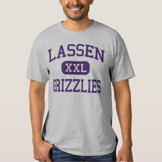 Lassen - Grizzlies - High - Susanville California Tshirts