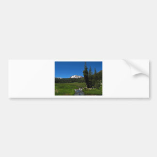 Lassen Peak, Lassen National Park Bumper Sticker