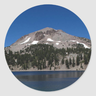 Lassen Peak, Lassen National Park Classic Round Sticker