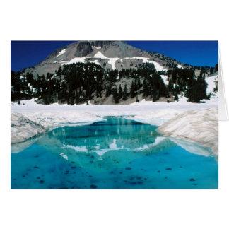 Lassen Volcanic National Park, CA Card
