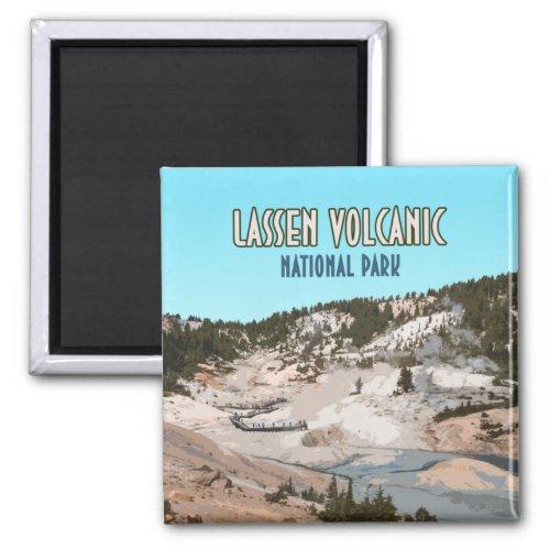 Lassen Volcanic National Park California Magnet
