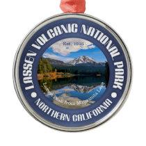 Lassen Volcanic National Park Metal Ornament