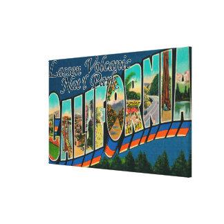 Lassen Volcanic Nat'l Park, CA Canvas Print