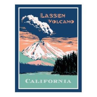 Lassen Volcano California Post Card