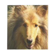 Lassie Collie  Notepad
