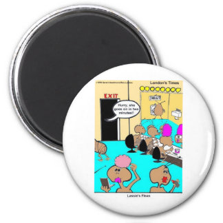 Lassie's Fleas Funny Cartoon Tees & Gifts Magnets