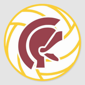 Lassiter Volleyball Sticker