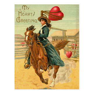 Lasso my heart postcard