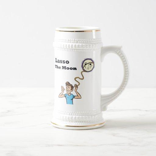 Lasso the moon mugs