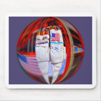 Last 9-11 Beams Mouse Pads