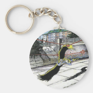 Last Battle of the Overpass Key Chain