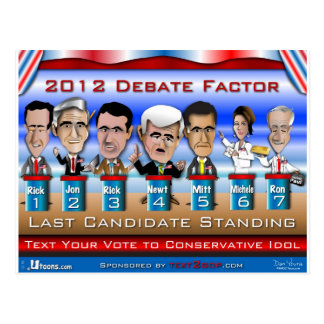 Last Candidate Standing Postcard