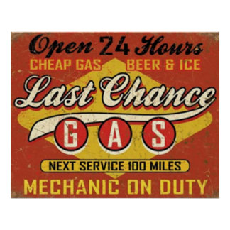 Last Chance Gas Poster