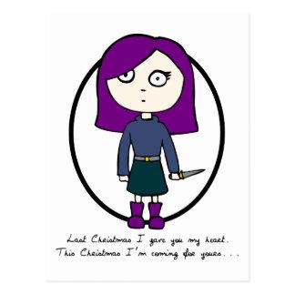 Last Christmas I Gave You My Heart Postcard