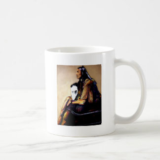 Last Comanche Chief Coffee Mug