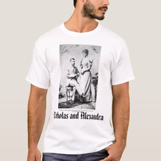 Last Czar and Czarina, Nicholas and Alexandra T-Shirt