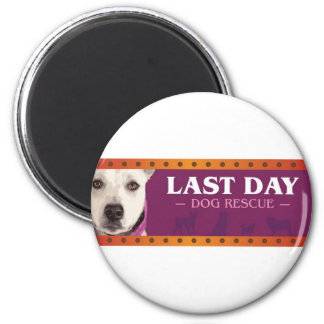 Last Day Dog Rescue Magnet