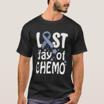 Last Day Of Chemo Gastric Cancer Awareness T-Shirt