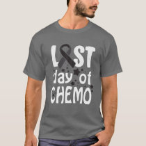 Last Day Of Chemo Skin Cancer Awareness T-Shirt