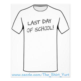 Last Day of School Flyer