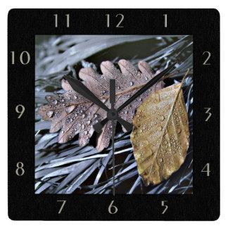 Last Days of Autumn - Wall Clock