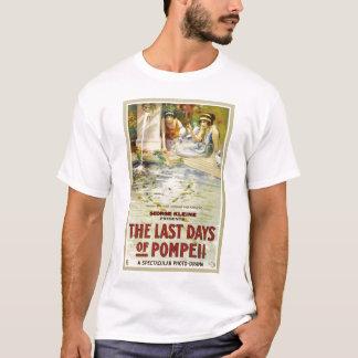 Last Days Pompeii 1913 Italian silent movie T-Shirt