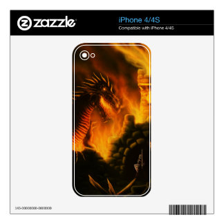last defence fantasy iPhone skin Skins For The iPhone 4S