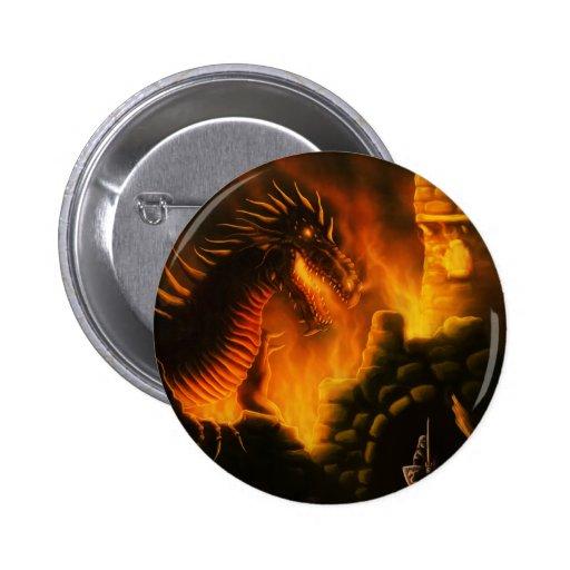 last defense fantasy dragon 2 inch round button