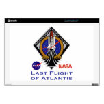 "Last Flight of Atlantis 17"" Laptop Decal"