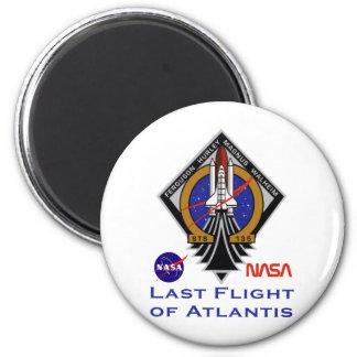 Last Flight of Atlantis Magnet