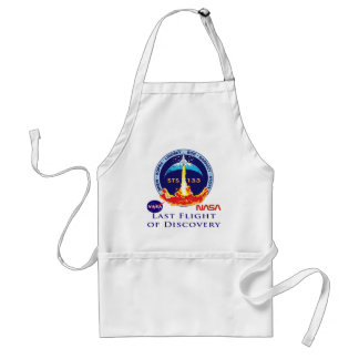 Last Flight of Discovery Aprons