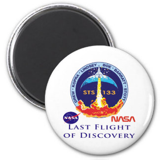Last Flight of Discovery Magnet