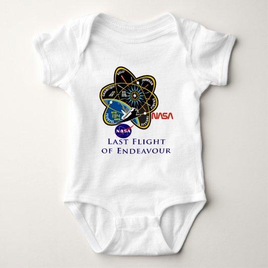 Last Flight of Endeavour Baby Bodysuit