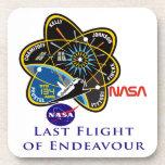 Last Flight of Endeavour Beverage Coasters