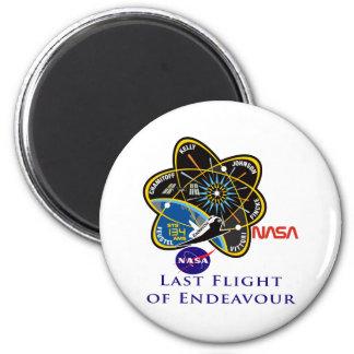 Last Flight of Endeavour Magnets