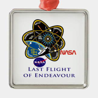 Last Flight of Endeavour Ornament