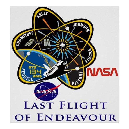 Last Flight of Endeavour Poster