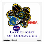 Last Flight of Endeavour Wall Graphic