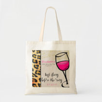 Last Fling Before The Ring  Bachelorette Party Tote Bag