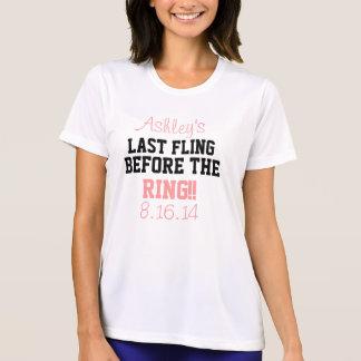Last Fling Before the Ring T-Shirt- White T-Shirt