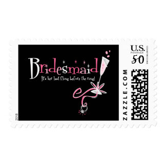 Last Fling Bridesmaid Postage