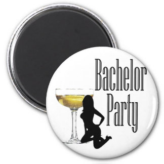 Last Fling fun bachelor party 2 Inch Round Magnet