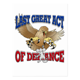 Last Great Act of Defiance Postcard