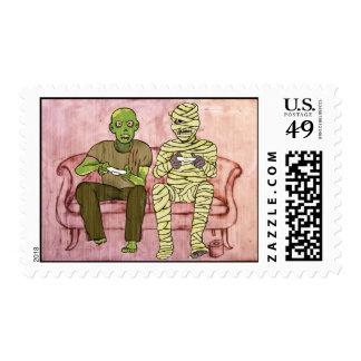 Last Halloween Stamps