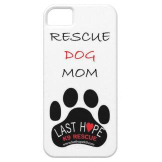 Last Hope K9 Rescue iPhone 5 Rescue Dog Mom iPhone SE/5/5s Case