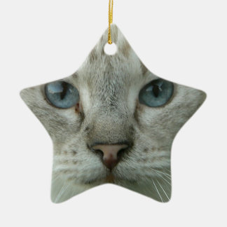 Last Hopes Blue Eyes Ceramic Ornament